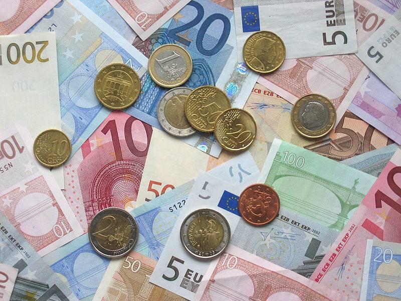 Geld, briefjes en munten