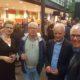 De fractie van links naar rechts: Sylvia van der Heide (fractievoorzitter), Peter van Savoyen (fractiesecretaris), Henny Lammers, Ben Nijboer.